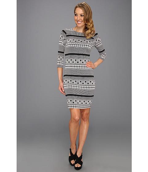 Rochii Karen Kane - Geo Contrast Dress - Print