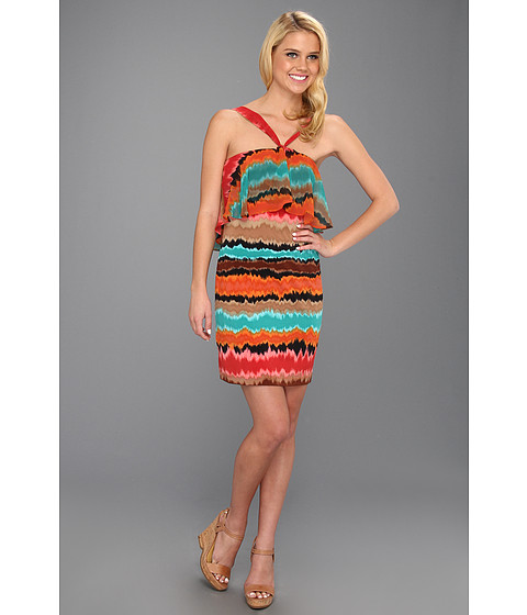 Rochii Max and Cleo - Becca Halter Dress - Multi