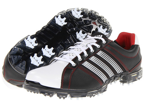 Adidasi adidas - adicross TOUR - Black/Running White/University Red