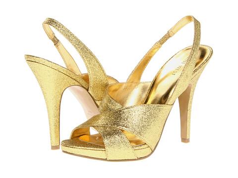 Pantofi Nine West - Ripper - Gold Synthetic