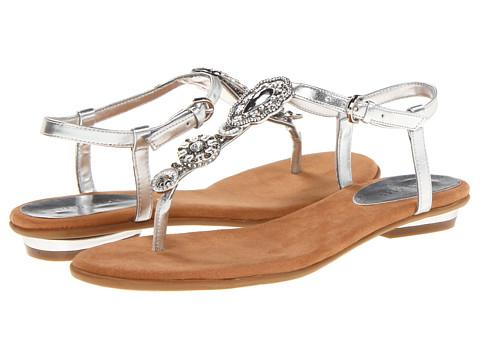 Sandale Nine West - Issina - Silver Sunthetic