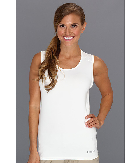 Tricouri Patagonia - Capileneî 1 Silkweight Stretch Tank - Birch White