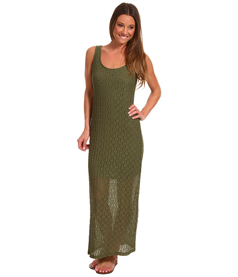 Rochii Christin Michaels - Kasey Maxi Dress - Khaki Green