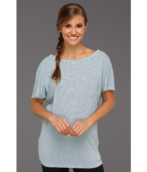 Tricouri Carve Designs - Bailee Tee - Orient Blue Stripe