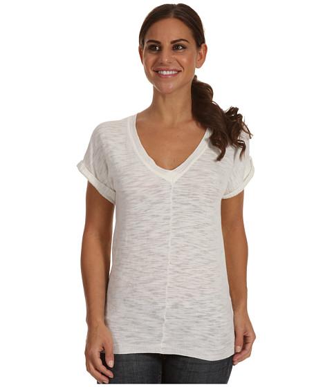 Tricouri Carve Designs - Maddie Pullover Knit - White