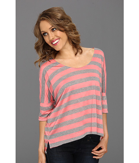 Bluze Culture Phit - Charissa Top - Pink/Grey