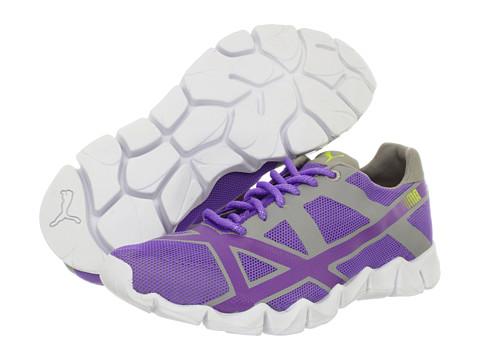 Adidasi PUMA - Axel ZX Wn\s - Fluo Purple/Opal Gray/Fluo Yellow