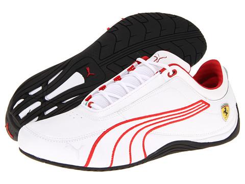 Adidasi PUMA - Drift Cat 4 Ferrariî - White/Rosso Corsa/White
