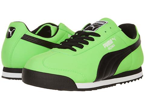 Adidasi PUMA - Roma SL NBK 2 - Fluro Green/Black/White