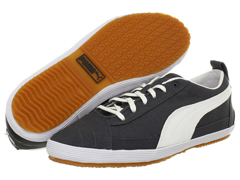 Adidasi PUMA - Serve Pro CNVS - Dark Shadow/White