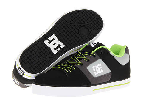 Adidasi DC - Pure - Black/Battleship/Lime
