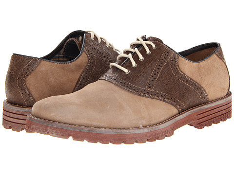 Pantofi Hush Puppies - 1958 - Authentic Lug - Taupe Suede/Brown