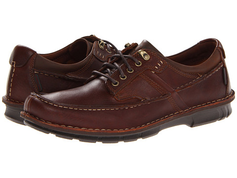 Pantofi Hush Puppies - Montrose Oxford MT - Tan Leather