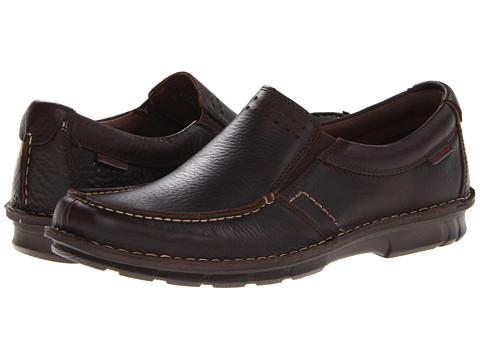 Pantofi Hush Puppies - Montrose Slip On MT - Dark Brown Leather