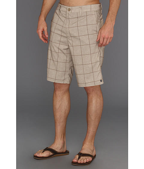 Pantaloni Rip Curl - Grinds Plaid Walkshort - Khaki