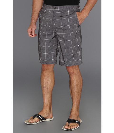 Pantaloni Rip Curl - Grinds Plaid Walkshort - Charcoal