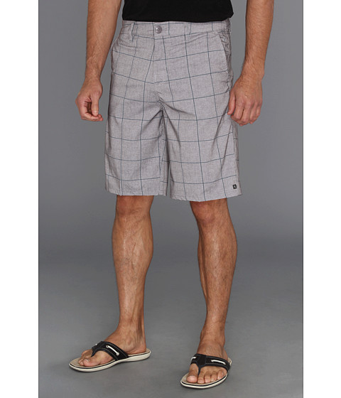 Pantaloni Rip Curl - Grinds Plaid Walkshort - Frost Grey