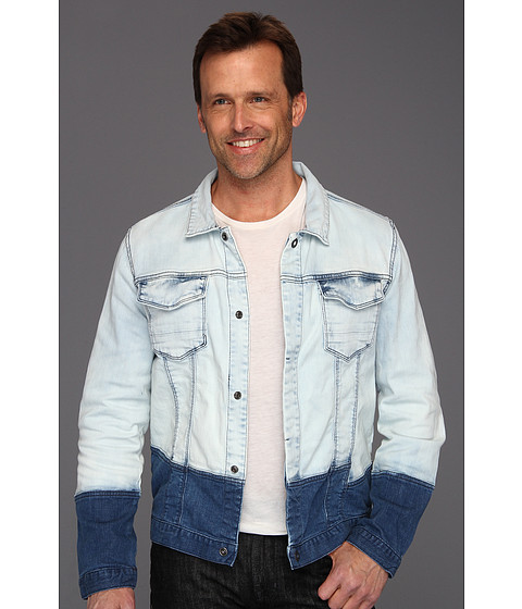 Jachete Calvin Klein - Pieced Denim Jacket - Light Wash