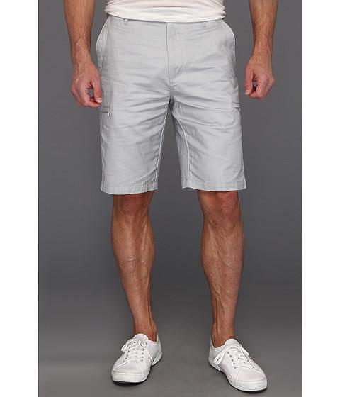 Pantaloni Calvin Klein - Linen/Cotton Cargo Short - Coldfront