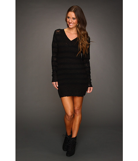 Rochii DC - Fireside Sweater Dress - Black