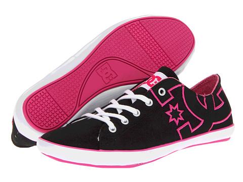 Adidasi DC - Cleo W - Black/Crazy Pink