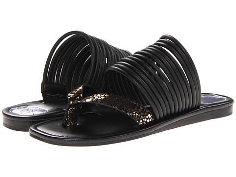 Sandale Donald J Pliner - Crysta - Black-Gold/Black