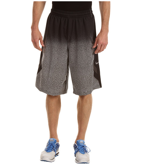Pantaloni Nike - Nike Light Them Up Short - Black/Black/Night Stadium/Matte Silver