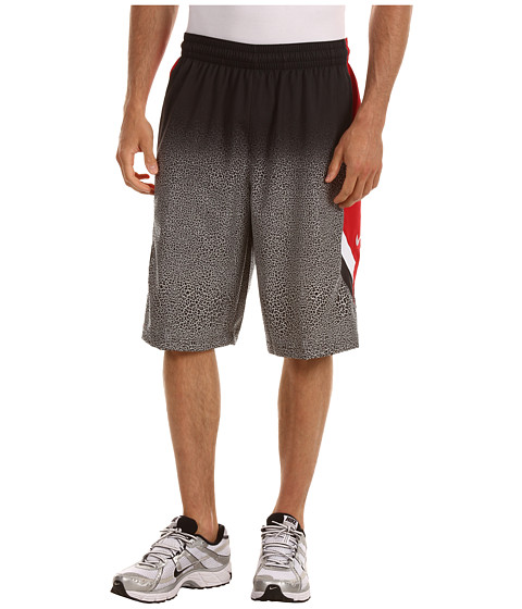 Pantaloni Nike - Nike Light Them Up Short - Black/Gym Red/White/White