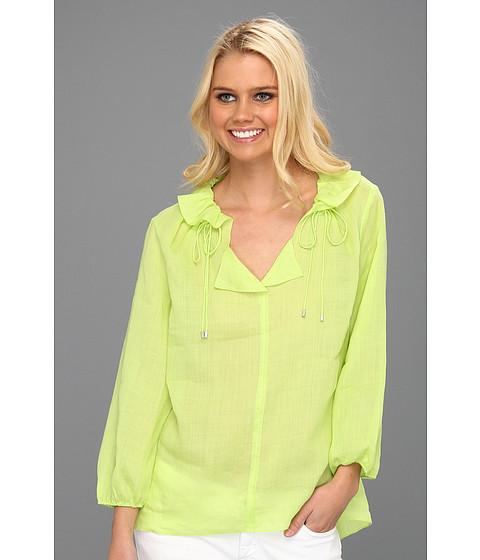 Bluze Elie Tahari - Alexandria Blouse - Sharp Green Faw