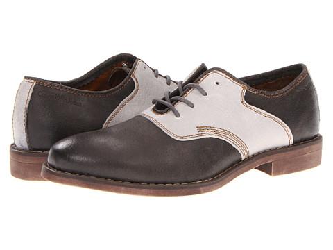 Pantofi Calvin Klein - Oris - Grey/White Leather