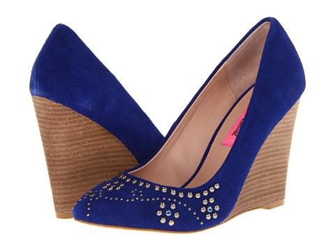 Pantofi Betsey Johnson - Arriel - Blue Suede