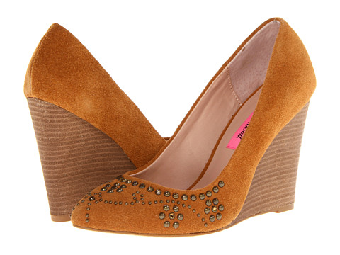Pantofi Betsey Johnson - Arriel - Cognac Suede