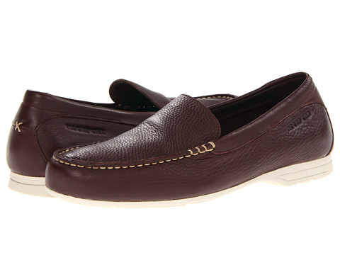 Pantofi Rockport - Laguna Road Venetian - Dark Brown