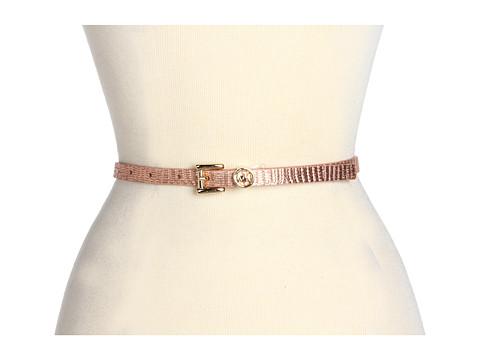 Curele Michael Kors - Michael Kors 13MM Roller With MK Logo Loop - Rose Gold
