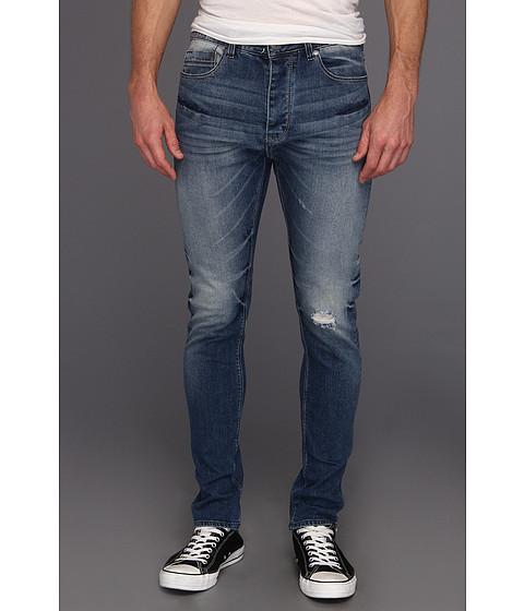 Pantaloni Calvin Klein - Tapered Jean in Deep Sky - Deep Sky