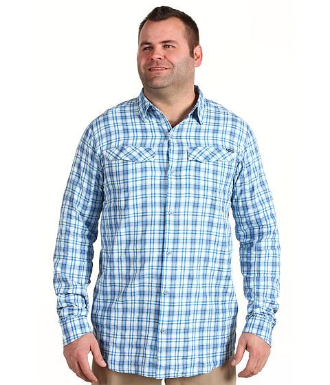Bluze Columbia - Silver Ridgeâ⢠Plaid L/S - Tall - Hyper Blue Big Plaid