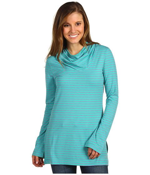 Bluze Columbia - Reel Beautyâ⢠Print L/S - Glaze Green 3-Color Stripe