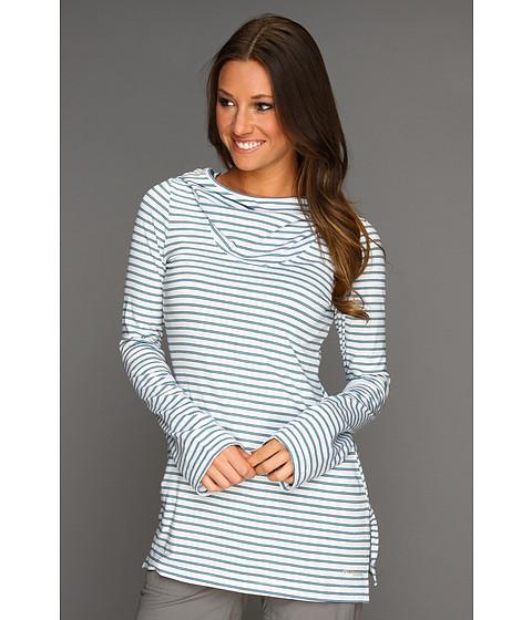 Bluze Columbia - Reel Beautyâ⢠Print L/S - White 3-Color Stripe