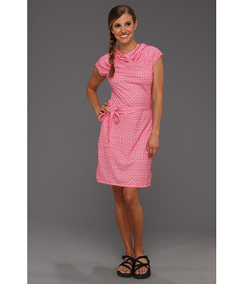 Rochii Columbia - Reel Beautyâ⢠Print Dress - Bright Rose Pinwheels Print