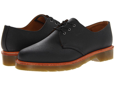 Pantofi Dr. Martens - Lester 3-Tie Shoe - Black Antique Bonneville