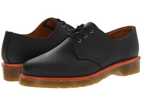 Pantofi Dr. Martens - Lester 3-Tie Shoe - Black Antique Bonneville