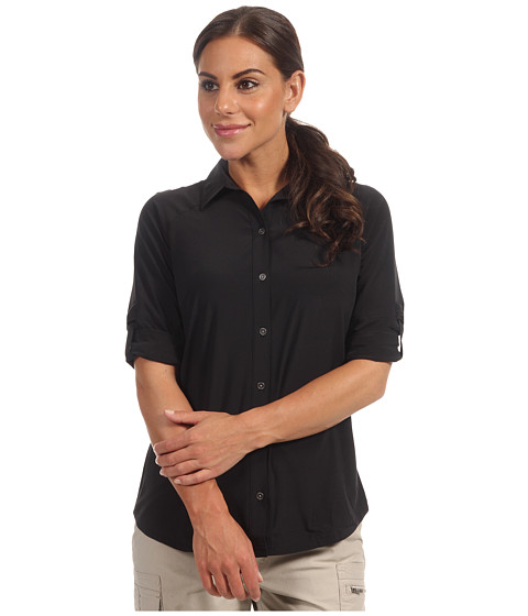 "Camasi Columbia - Global Adventureâ""¢ 3Q Shirt - Black"