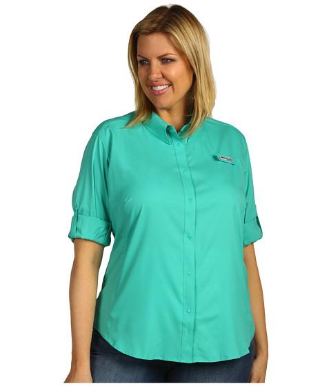 Bluze Columbia - Plus Size Tamiamiâ⢠II L/S Shirt - Glaze Green