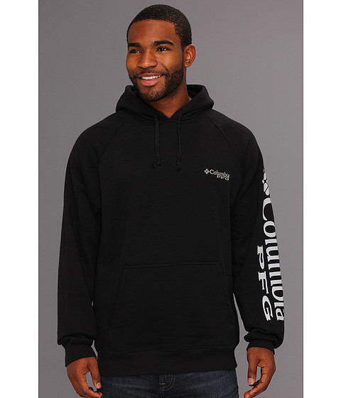 Bluze Columbia - PFGâ⢠Hoodie - Black/Cool Grey Logo