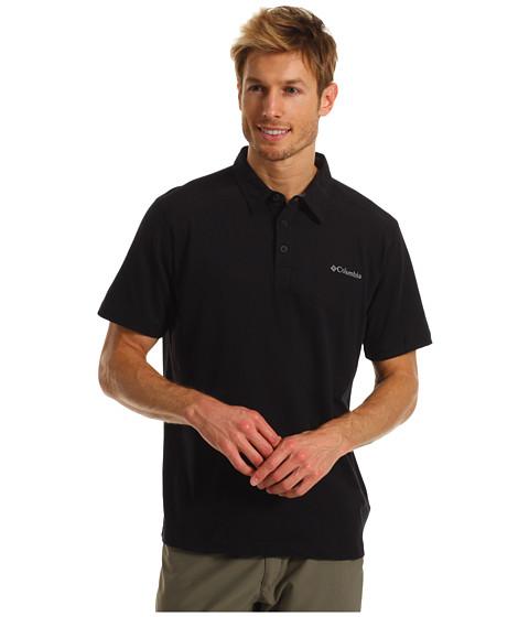 Bluze Columbia - Sweat Threatâ⢠S/S Polo - Black