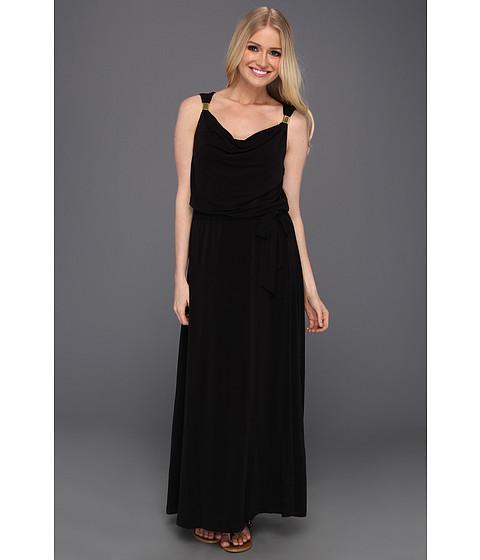 Rochii Calvin Klein - Maxi Dress w/ Hardware - Black