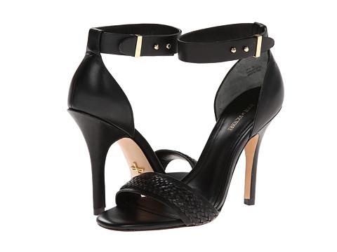 Pantofi Pour La Victoire - Yaya Dress Sandal - Black Woven