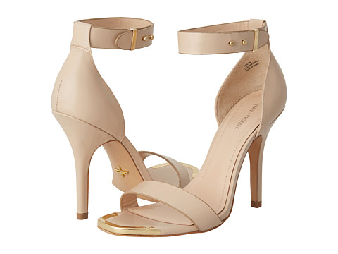 Pantofi Pour La Victoire - Yaya Dress Sandal - Nude Box Calf