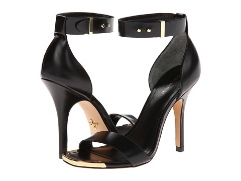 Pantofi Pour La Victoire - Yaya Dress Sandal - Black Box Calf