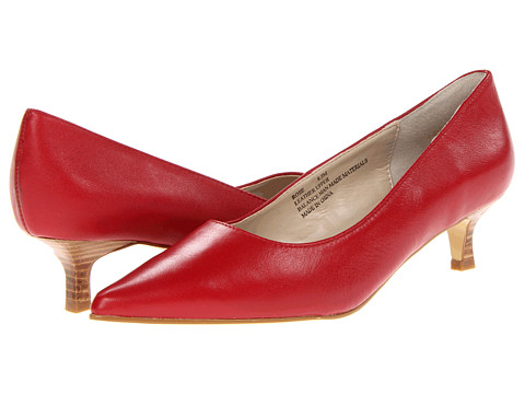 Pantofi Fitzwell - Rose - Red Kid Leather